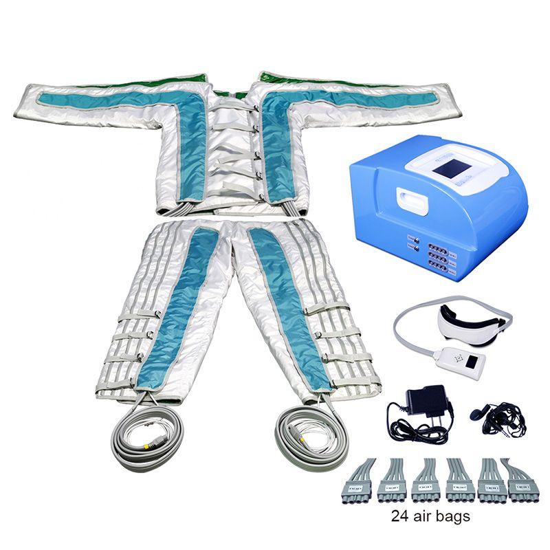 Drenaggio linfatico Pressoterapia 24 Camere Pressione dell'aria PROFESSIONALE PROFESSIONALE AFFRAROD Slimming Lymphing Dreinming System System System