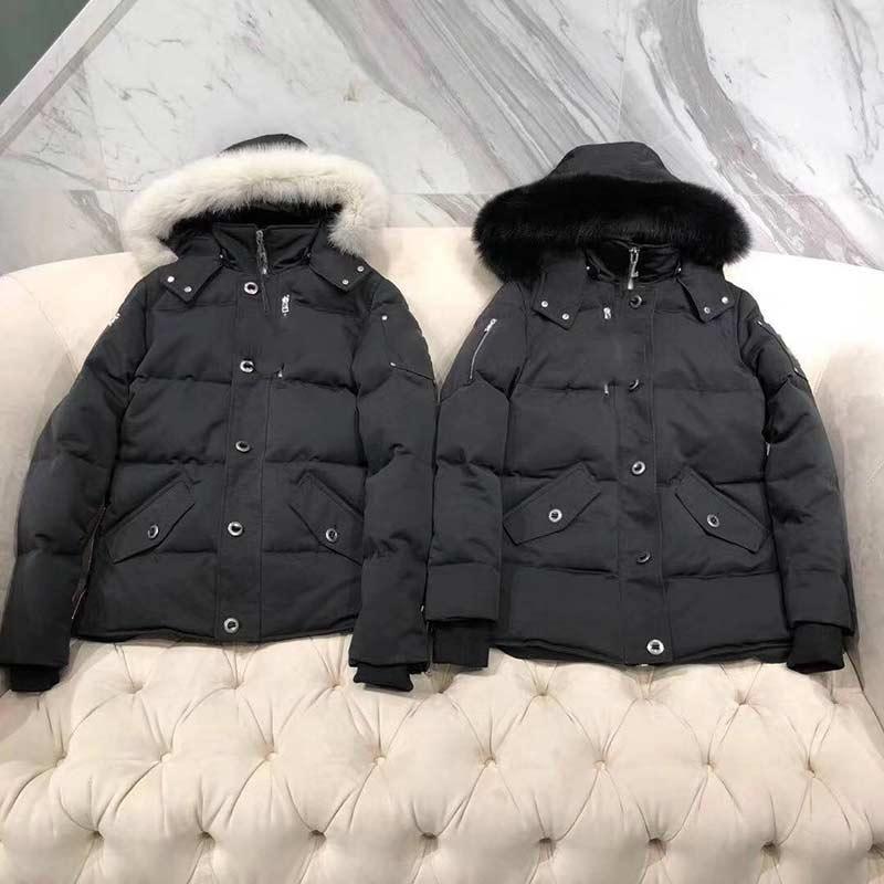 빠른 선박 최고의 새로운 남성 캐주얼 다운 자켓 아래로 코트 망 무스 따뜻한 남자 겨울 코트 아웃웨어 재킷 파카스 캐나다 너클 듀웃