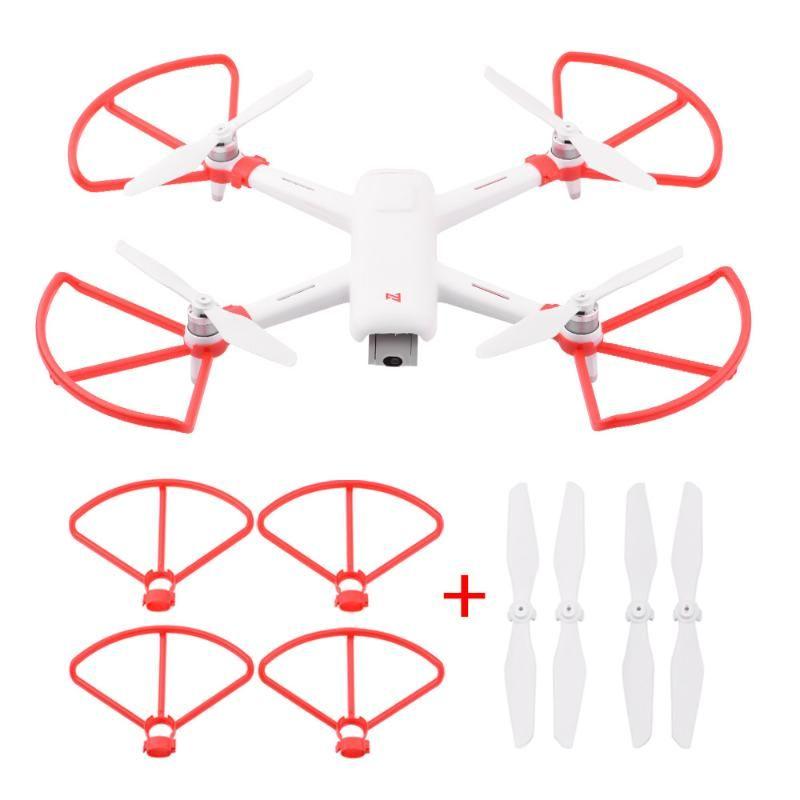 Drones Accessoires Protecteur d'hélice pour FIMI A3 Pièces CW CCW Protecteur Protecteur Protecteur Protecteur Protecteur Props Blade Douces RC Quadcopter