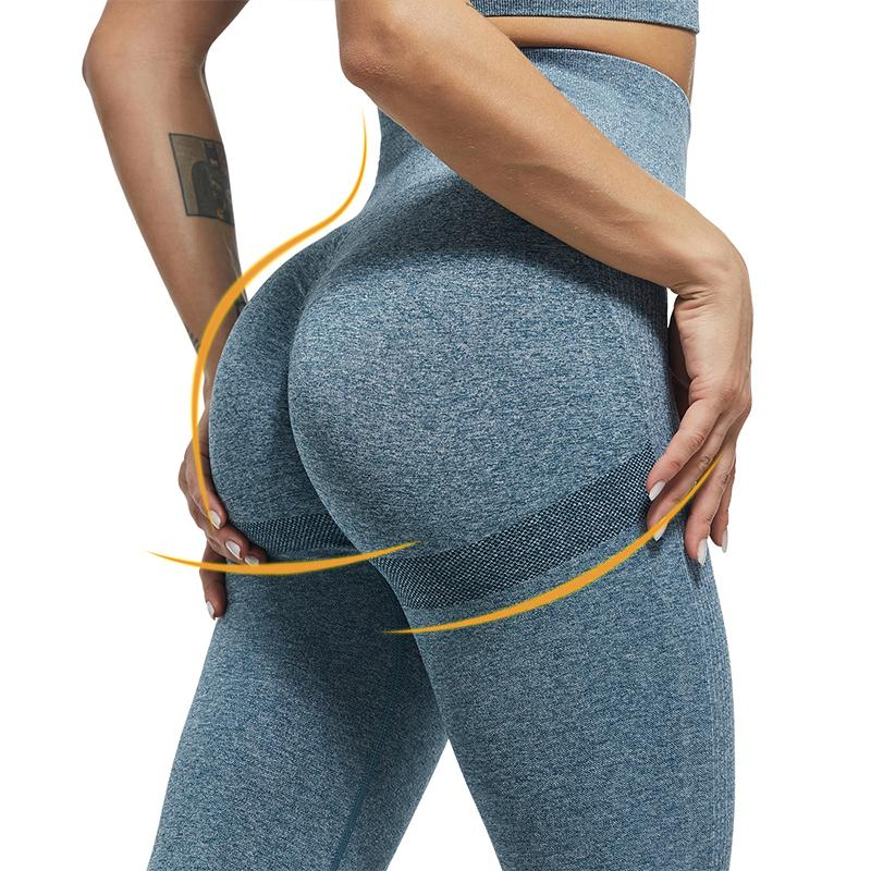 ATHVOTAR Ladies Seamless Sexy Bubble Butt Yoga Leggings High Waist Fitness Legging Push Up Pants Women Tights