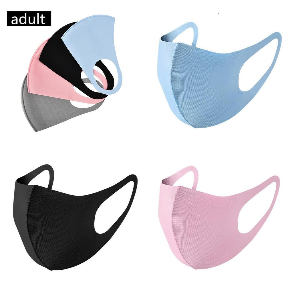 Maske Maske ABD Bisiklet Yüz Stok Kullanımlık Ağız Tasarımcı Maskeleri Açık Spor Koşu Tabanca Yetişkin Çocuk Maskesi Bireysel Paketi FY