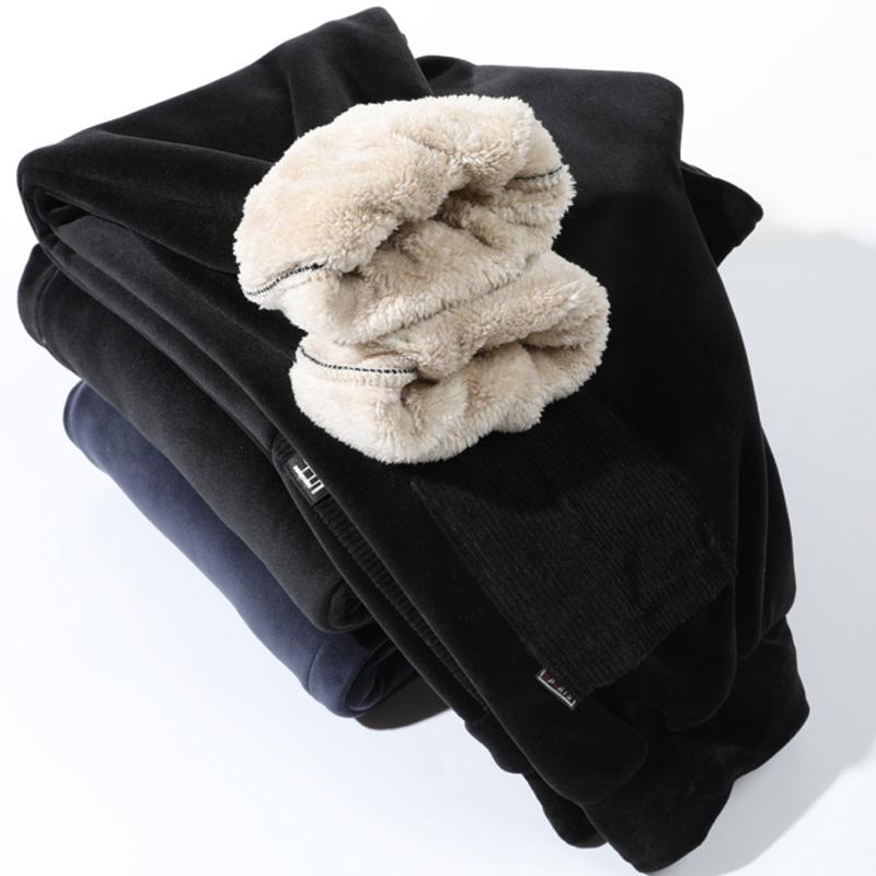 Супер теплая зима ватки Sweatpants Мужчины Joggers Long Track Мужской Streetwear Повседневный трениках плюс размер 6XL 7XL 8XL