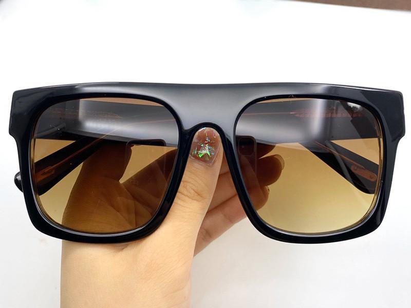 Beliebte Männer mit Sonnenbrille Mode Classic Beliebte volle quadratische UV-Schutzart 0711 TOP LINE-Hülle Rahmenqualität Kommen Sommer Sunglas NQBA