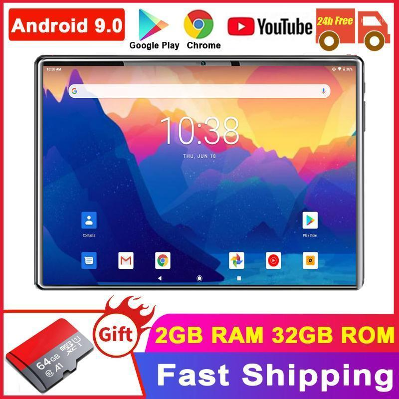 Tablet PC Satndard 10 Inch Android 9.0 Dual Cameras Tablette 32GB Wifi Tablets GPS Phone Call+Free Gifts1