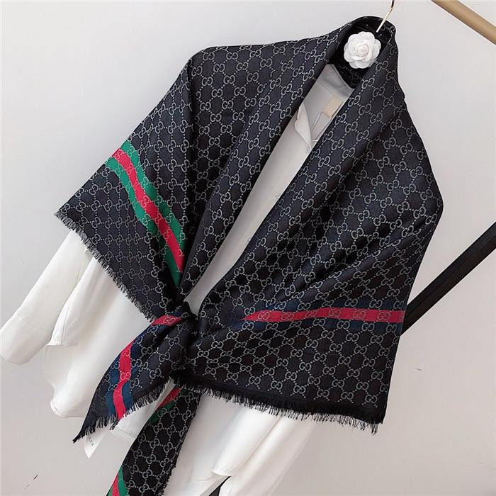 Gúcci Fashion Scarves for Women Print wool silk Scarf Female 140x140cm square Shawl Bandana for Head Large Scarfs For Ladies cashmere
