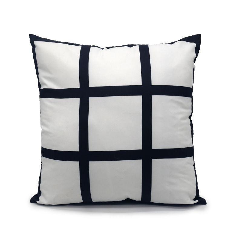 승화 패널 베개 40 * 40 열전달 베개 커버 패널 베개 쿠션 삽입없이 린넨 폴리 에스터 필로 포장 A02