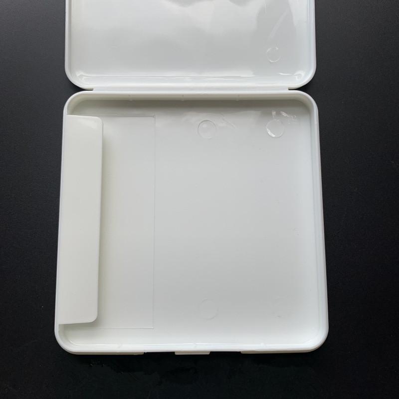 Support anti-poussière Masque de visage portable Masque Visage de visage Masque jetable Boîte à papier d'humidité Organisateur EWA2145 Masque Storage Case Shield Ibede