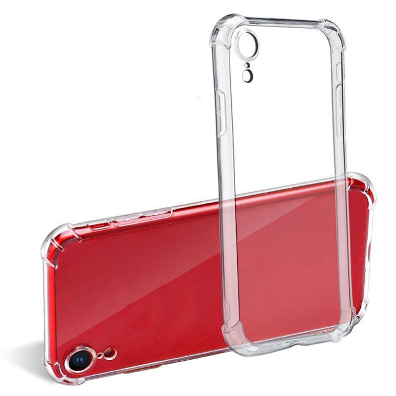 Para iPhone 12 11 Pro 7 8 6 6S más transparente estuche blando de TPU caso de la contraportada de protección a los casos al por mayor del teléfono transparentes