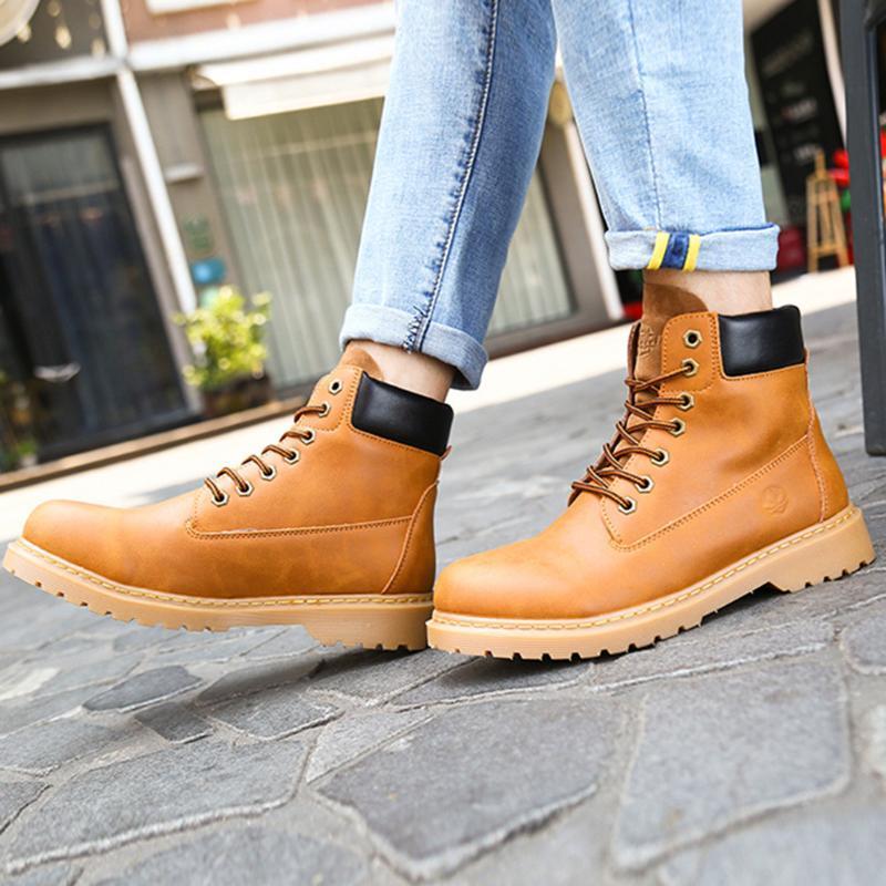 Sapatos de fundo grosso sagace mulheres cores misturadas lace up botas mulheres botinhas derramar les femmes zapato casual de mujer invierno