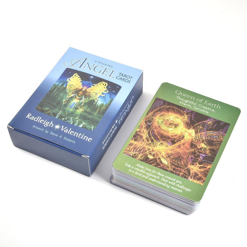 2019 completo Inglés mágica arcángel Tarjetas Oracle magia de tierra destino Tarot de tarjetas de alta calidad Tarot Juego de mesa tarjeta bbyVkG casecustom