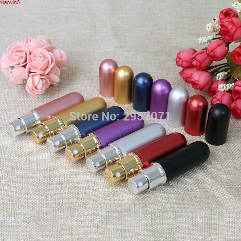 6 ml Metal Parfüm 12 adet / lotgood Konteyner Taşınabilir Şişe Doldurulabilir Parfümler Atomizer Sprey Şişeleri Parfum Seyahat Makyaj Mini Ürün RFOH