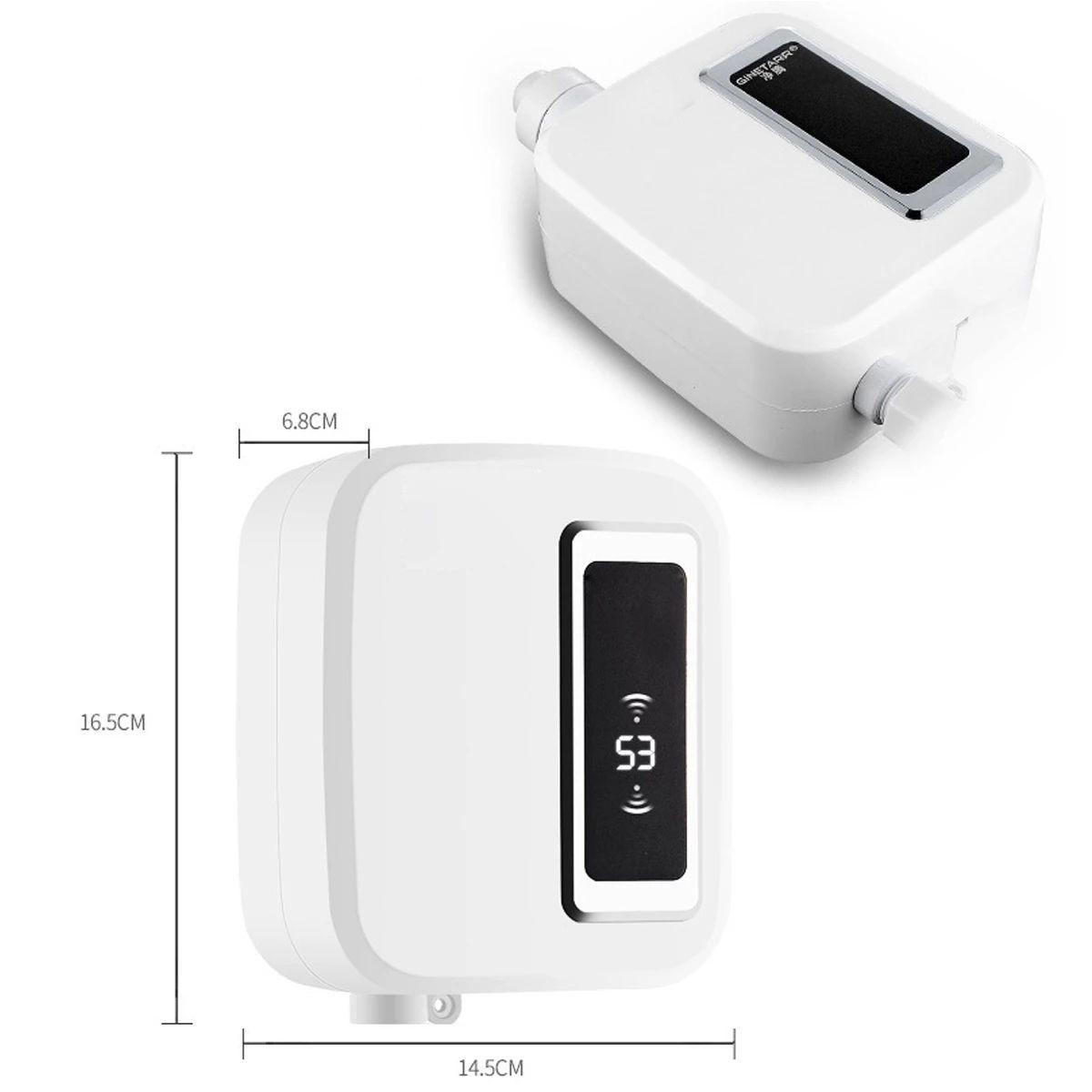 calentador de agua FreeShipping 3500W Calentador eléctrico de agua instantáneo Tankles caliente mini calentador con pantalla LCD enchufe de la UE para la cocina Baño Casa