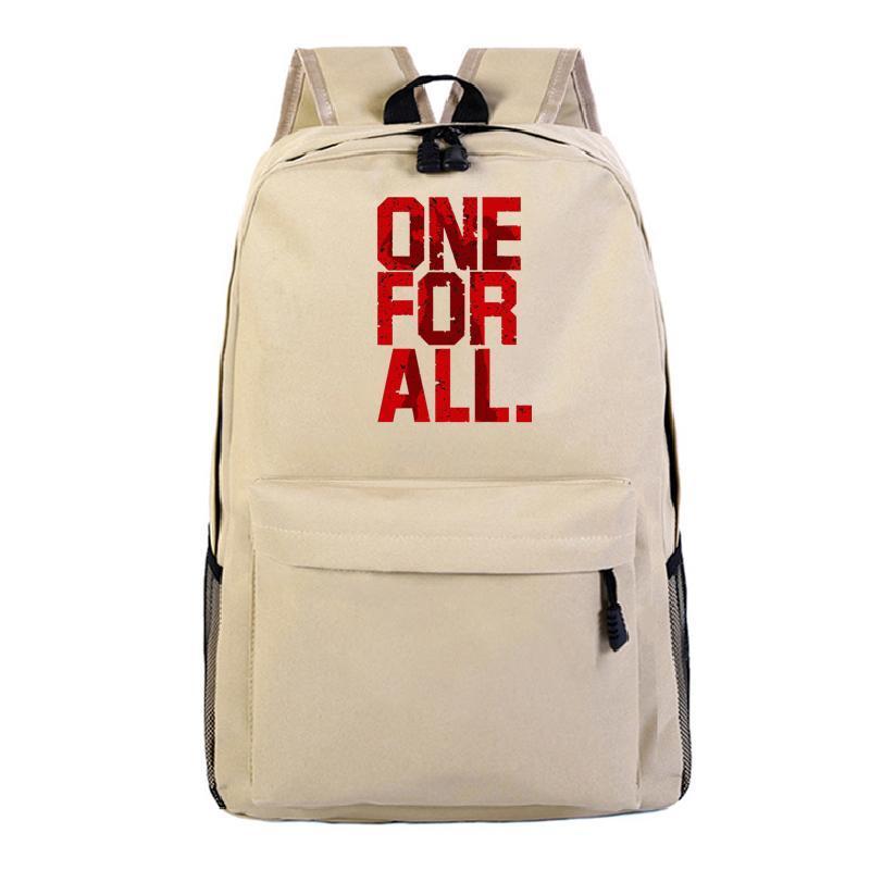 My Bag Canvas Backpack School to Bookbag Zaino Zaino Academia Borsa da viaggio Canvas Laptop Back Hero Borse Borse XSJXH