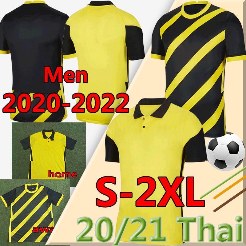 2020 2022 Малайзия Национальная команда Футбол Футбол Джерси 20 21 Малайзия Главная Желтый прочь Black Safawi Rasid Norshahrul Ldlan Talaha Мужская футболка