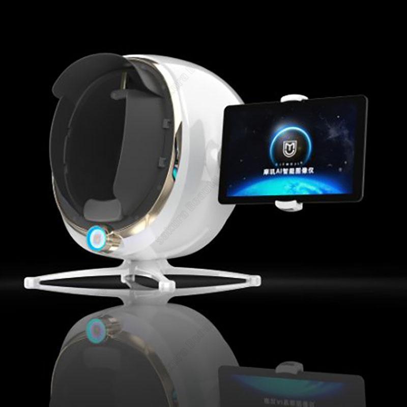 승진 2020 트렌드 제품에 3D 스킨 분석기 아름다움을위한 프로 모션 피부 분석기에 3D 피부 얼굴 분석기