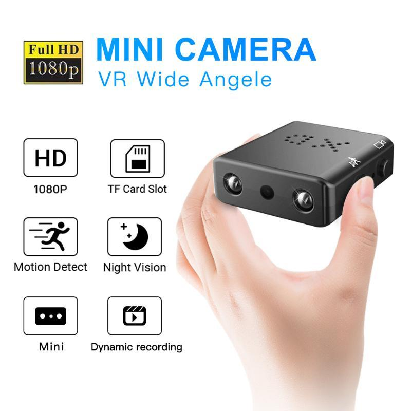 Mini caméra Full Hd 1080P Mini caméscope Night Vision Micro caméra de détection de mouvement vidéo Enregistreur vocal mouvement DT