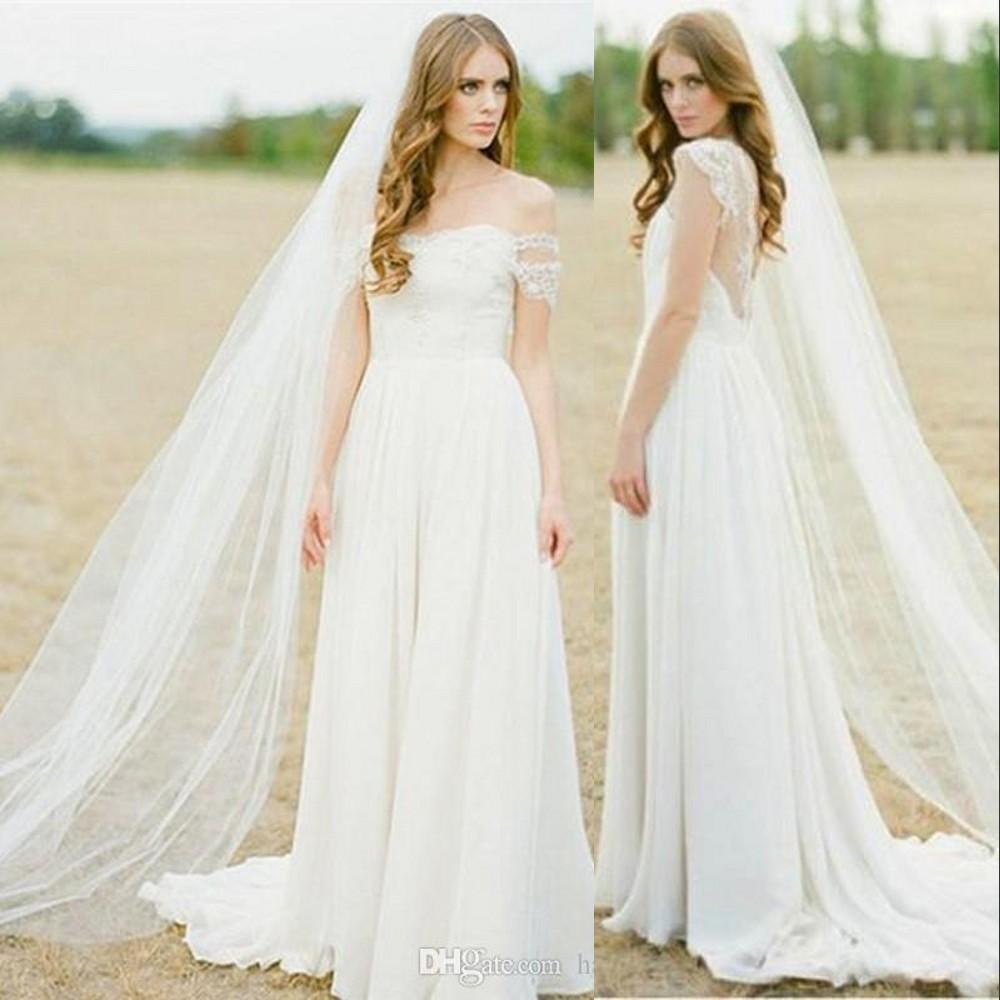 New Simple White Ivory High Quality Single One Layer Two Layers Floor Length Long Bridal Veils Comb Soft Wedding Veil Accessories for Brides