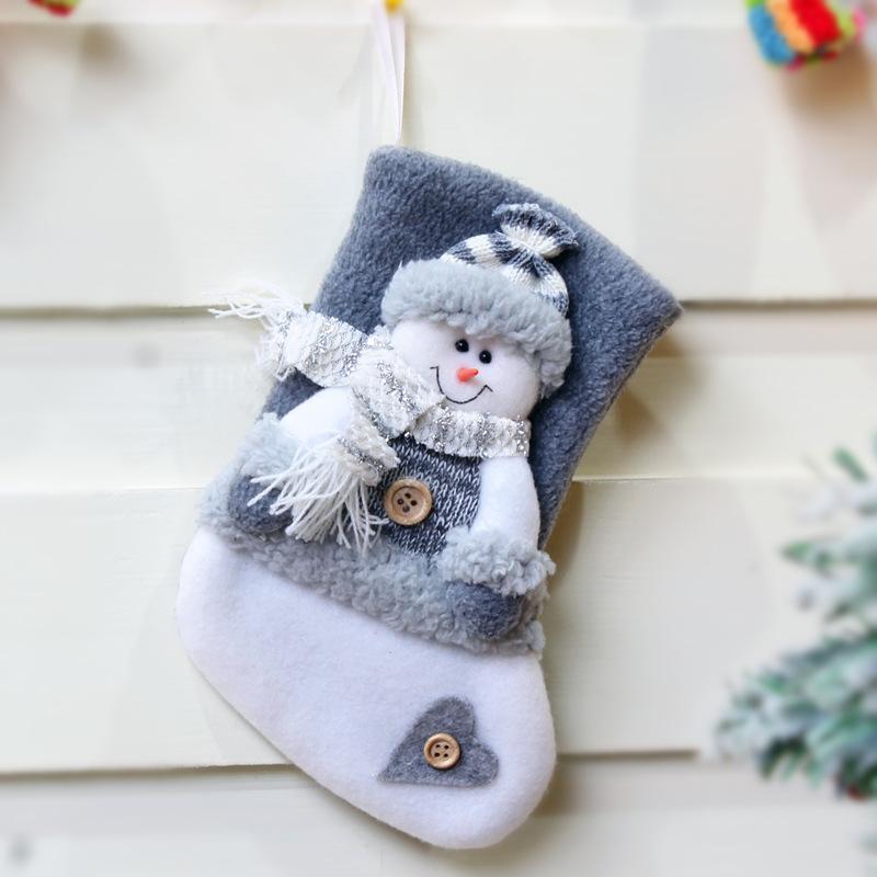Weihnachtsdeko Thick Weihnachtssocken-Geschenk-Beutel Verpackung liefert Box-Verpackung