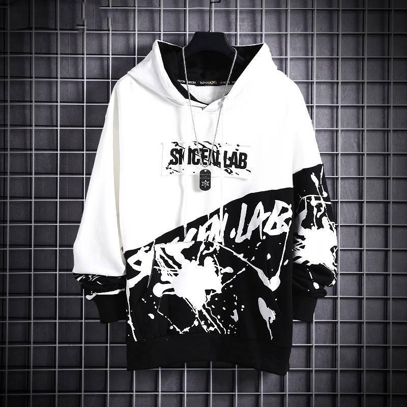 Casual Hommes Hip Hop capuche 2020 hommes Harajuku Sweatshirts Automne Homme japonais Streetwear en vrac Sweats à capuche drôle Manteaux
