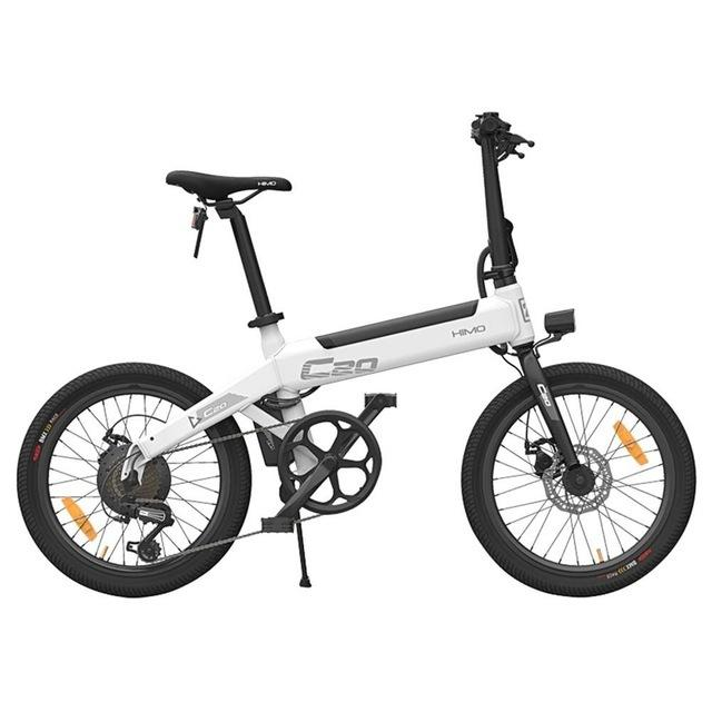 EU Stock HIMO C20 Foldable Electric Bike For Adults 2 Wheels 20 Inch 10AH 250W 36V Smart Electric Bike Bicycle With Double Brake