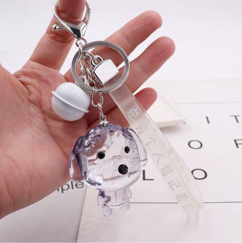 2020 Qualidade Top Luxury Cirle Fashion Car Keychais Designer de aço inoxidável para presentes com caixa