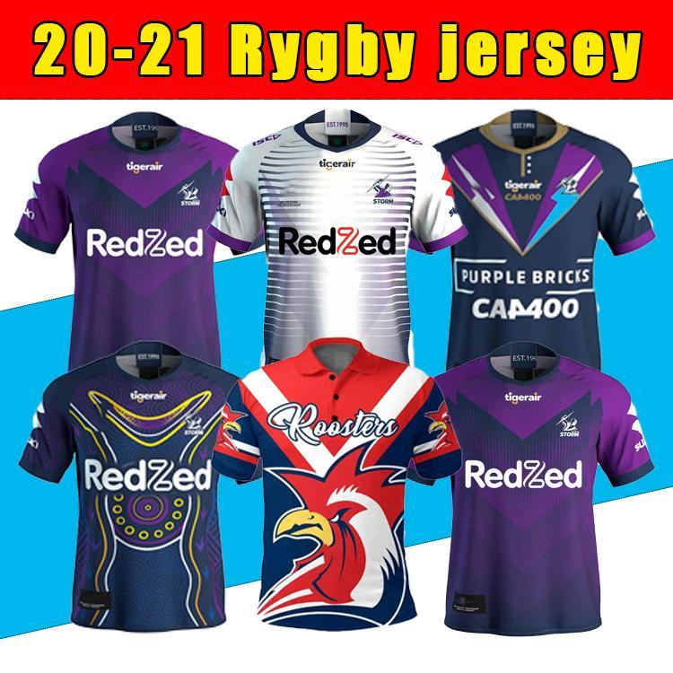 Melbourne Storm Rugby Jersey 2020 Indígena Comemorativa Jersey 20 21 Nrl Liga Austrália Austrália Alta Qualidade Liga de Rugby Jersey Tamanho S-5XL