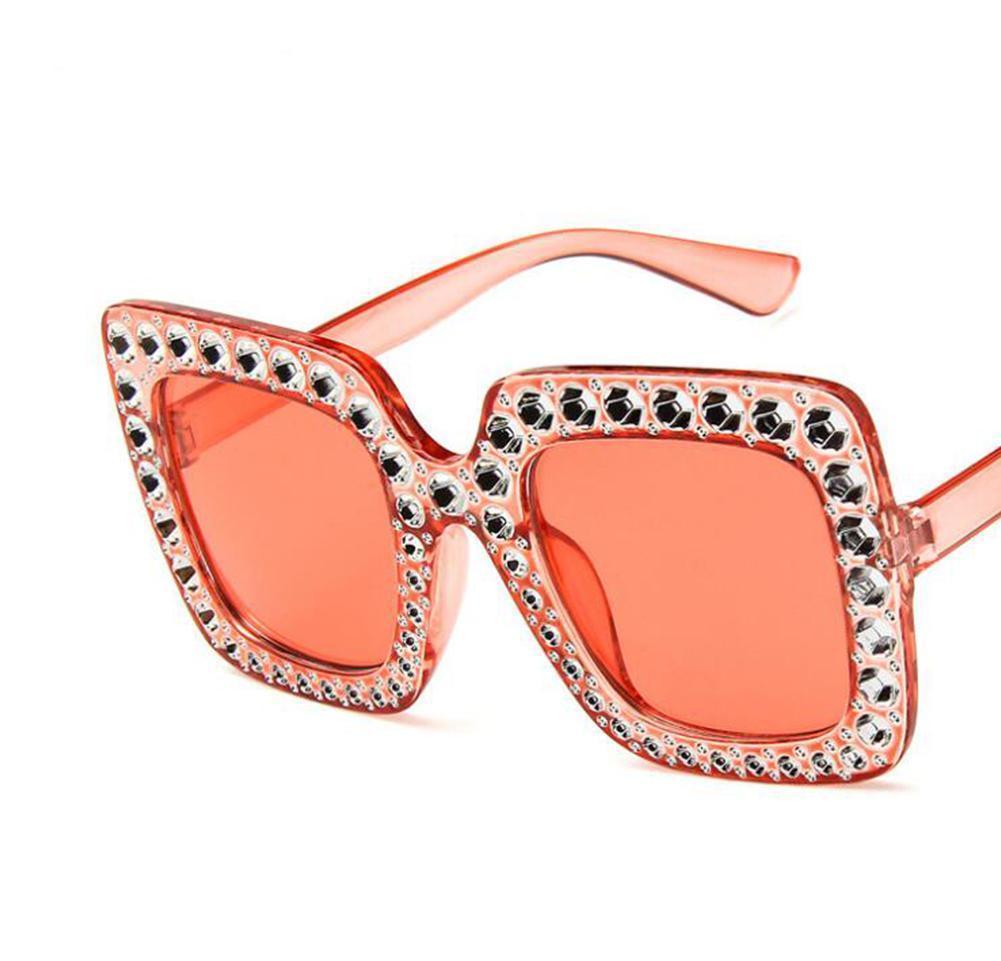 الإطار أعلى كبير الحجم الصيف النساء الرجعية ل حجر الراين بلينغ ميسكي نظارات شمسية موضة jllfu bde_jewelry