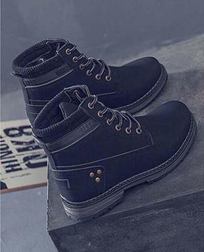 Мода кожа звезда женской обуви женщина кожа короткие осенние зимы лодыжки моды женщин сапоги Мартин сапоги снега сапоги P41