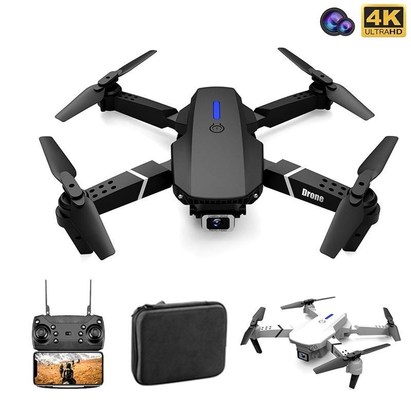 Quadcopter mit Kamera DRON FOLD FPV DRONE Professionelle 4K DRONE HOLD DRONE 4K Kamera-Drone Quadrocopter Spielzeug 201221