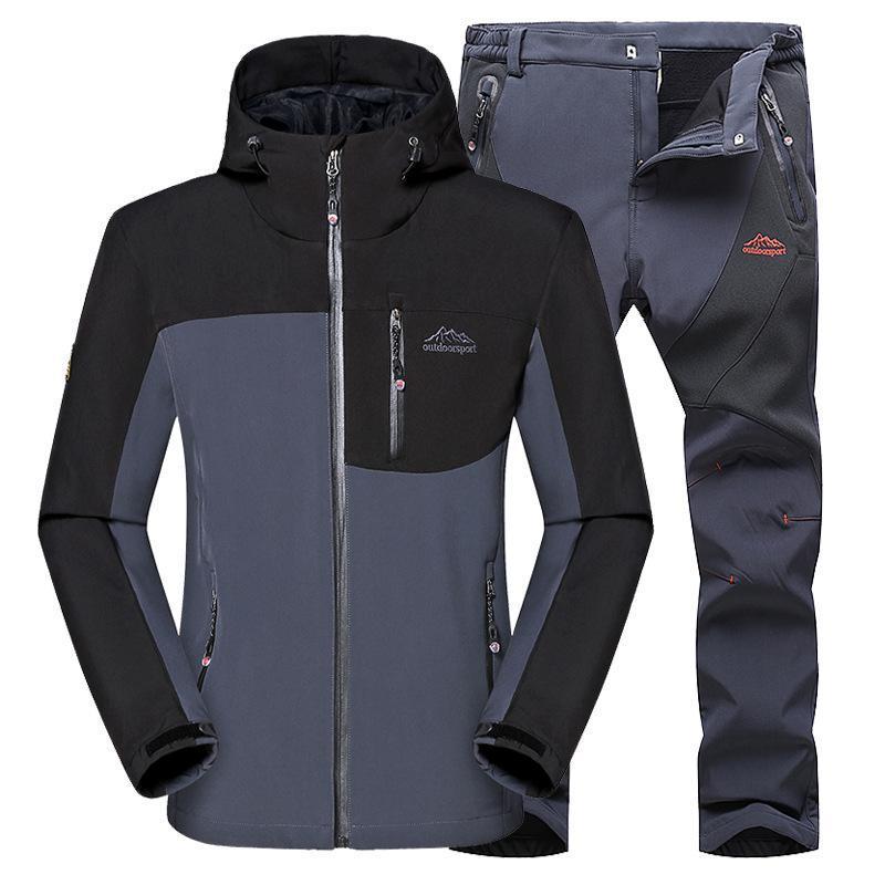 2020 Männer Armee Bergsteigerjacke Kampf-taktische Jacke Jagd Hosenanzug Paintball Camping Sportbekleidung