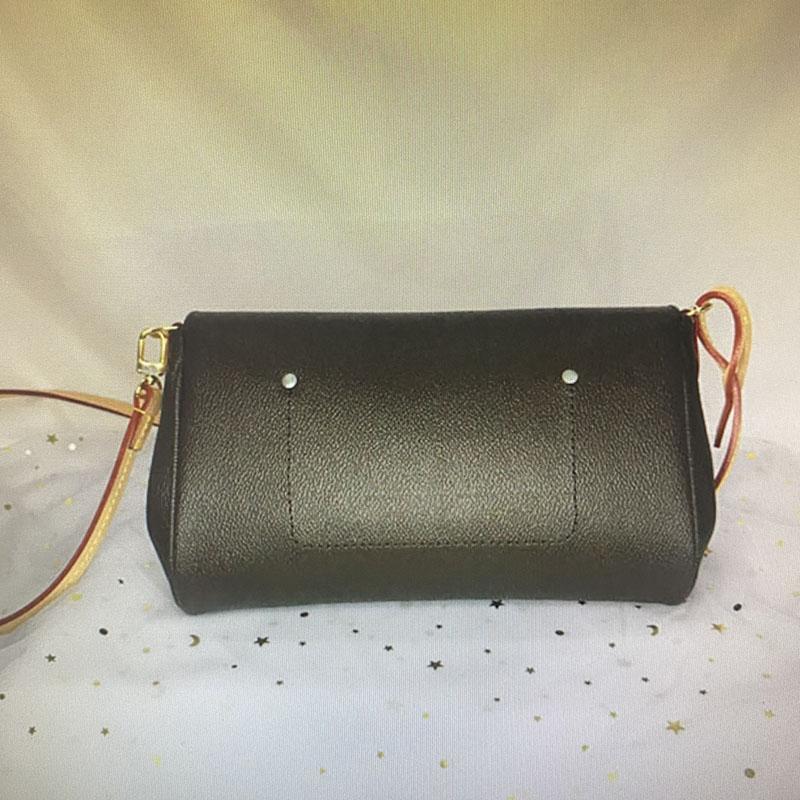 M40718 favorita MM MM clássico bolsa moda mulheres saco crossbody bolsa de ombro sacos de couro Damier Azur Ebene Tela Cross Body Bag N41275