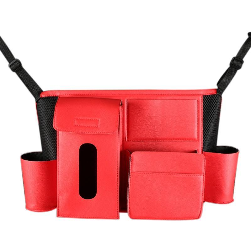 Organizador de armazenamento Car Seat Bag Universal multifunções caixa de armazenamento Interior Estiva Tidying Auto Organizer Box