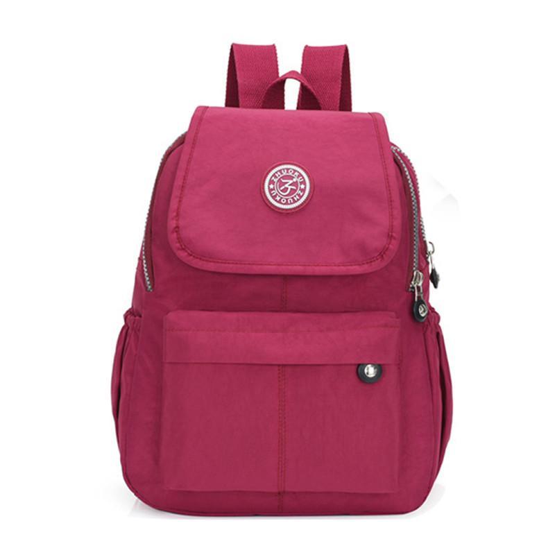 Nylon Women Backpack Fashion For Teenage Girs Daily Causal School Bags Men/Women Backpacks Shoulder Bag Pack Q1113