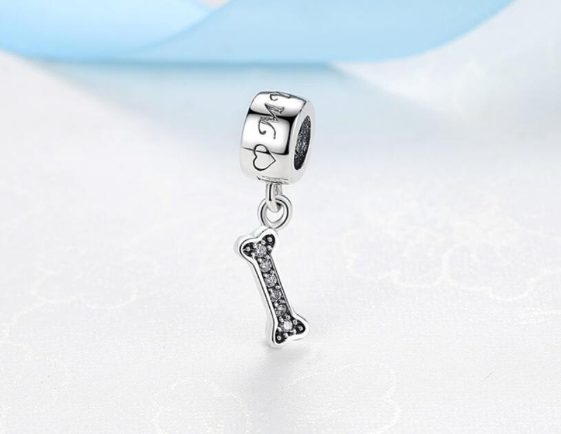 NBSAMENG 100% 925 Tortuga de cuentas STRIVE STRIVER con encanto de cristal completo Perlas de animales Ajuste Pulseras originales Collar DIY