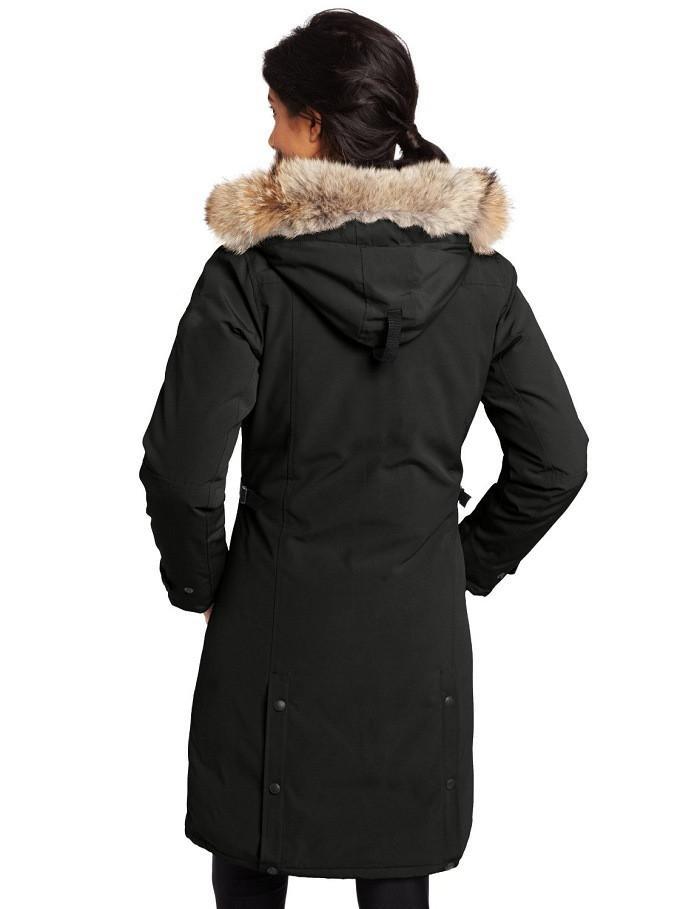 Inverno para baixo jackets hoodie real titular de pele de lobo mulheres zipper zipper à prova de vento e impermeável casaco aquecer casaco ao ar livre parka mulheres