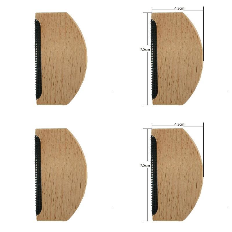 Epilador de madeira camisola removedor de roupas de tecido camisola removedores de loint removedores manual portátil lint lint trimmer pente barbeador 202 n2