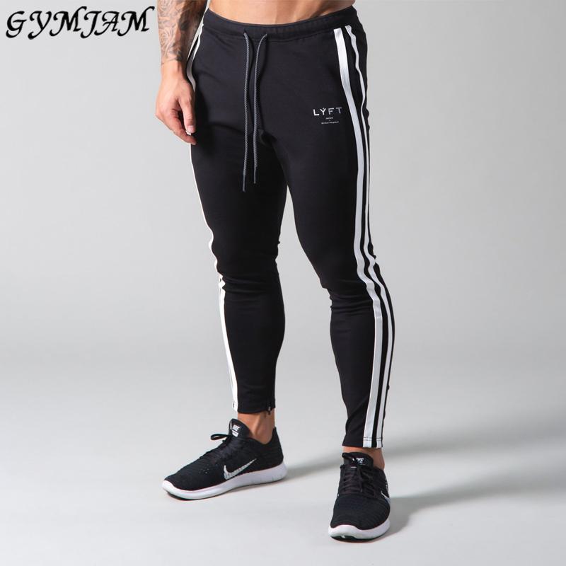 Новая уличная одежда повседневная мужская одежда Joggers мода мужская открытая повседневные брюки фитнес тренировки брюки хлопчатобумажные мужские брюки 201109