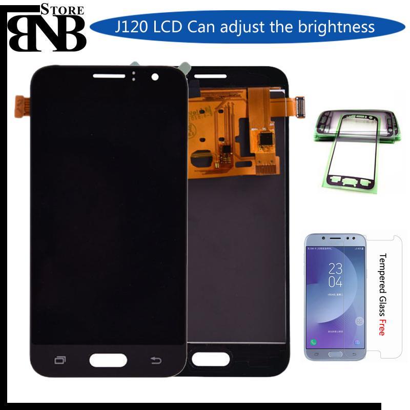 4.5'' J120 LCD For Samsung Galaxy J1 2016 J120F J120H J120M Display With Touch Screen Digitizer Assembly adjust brightness
