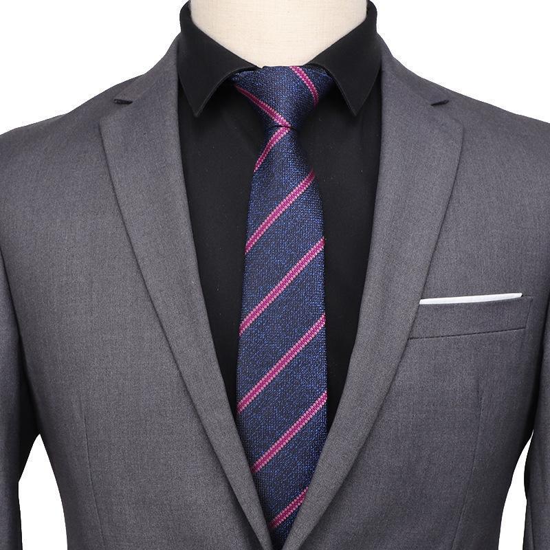 Sitonjwly 7cm Classic Tie for Men Women Skinny Neck Tie for Wedding Dress Mens Neckties Suits Slim Neck Ties Cravat Custom Logo