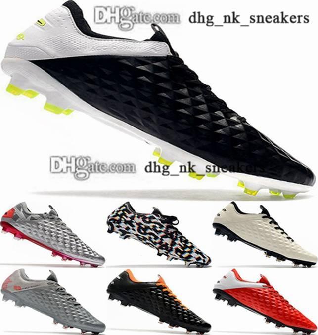 46 Tiempo 8 Botines Dames Soccer Tarcles Crampons de FG Futsal Femmes d'intérieur 38 Taille US AG Chaussures Bottes de football Hommes 12 EUR Mens légende VIII