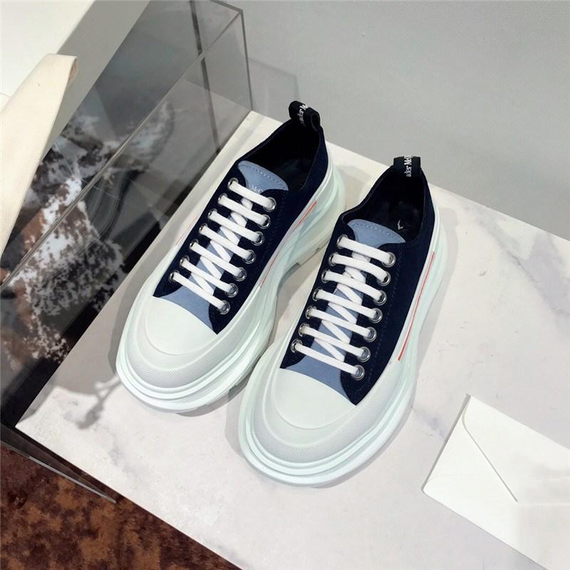 2020 sıcak satış lüks bayanlar spor düşük üst ayakkabı moda lüks kaliteli spor ayakkabı renk baskılı deri rahat shoes0338 dantel
