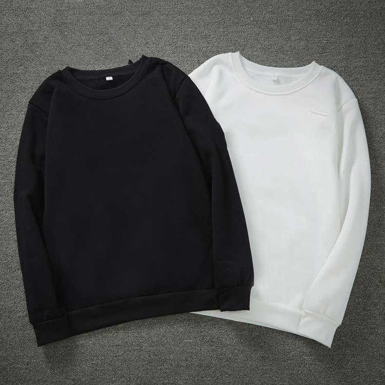 Coton à manches longues Mens t-shirts T-shirts Sports causaux Outwear Cool Nouveau T-shirt pour homme Soft Tshirt Casual Automne Spring Col Tee shirt M-4XL