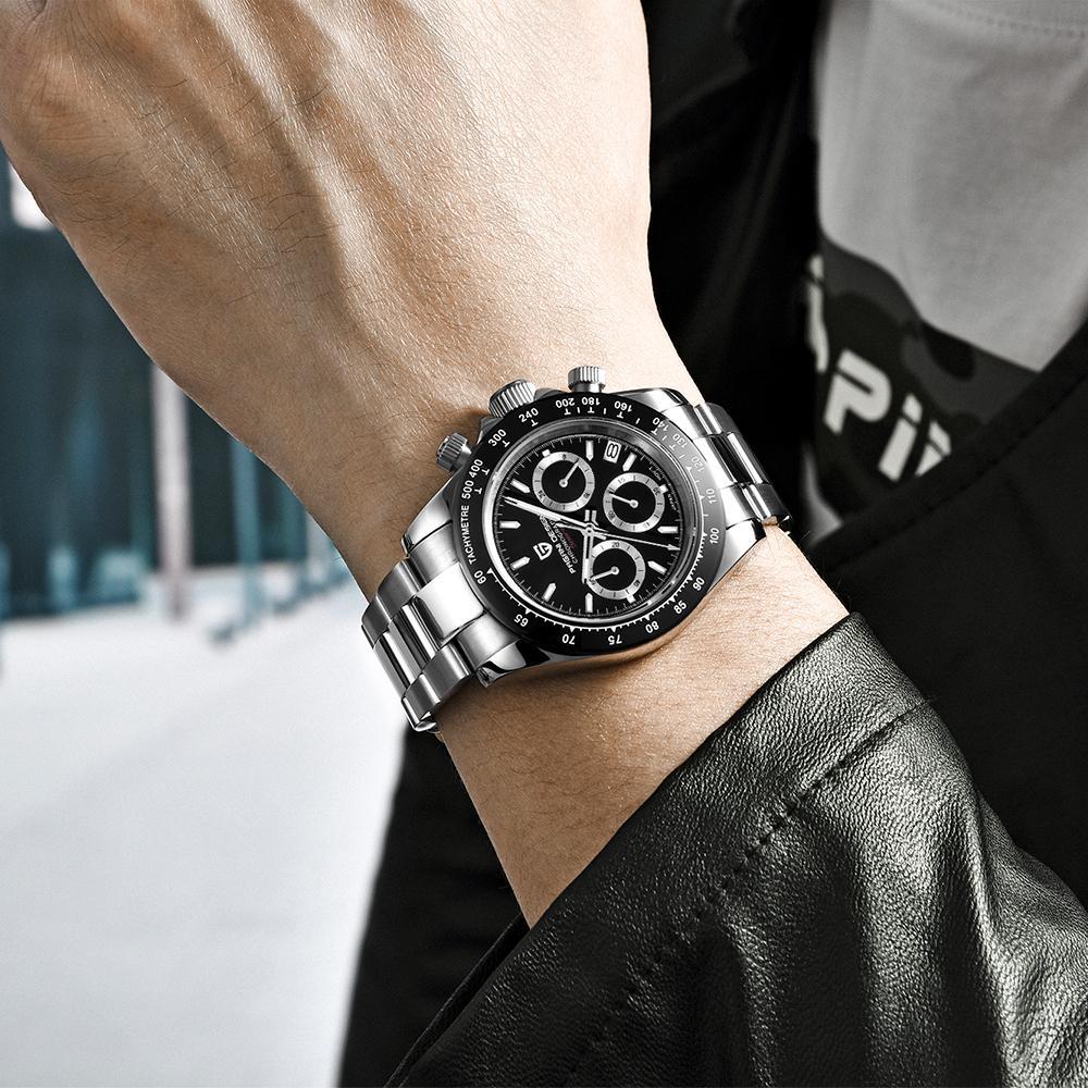 Orologio da uomo Mayforest Masculino Affari impermeabile orologio sportivo Relogio Masculino orologio al quarzo marca superiore di lusso