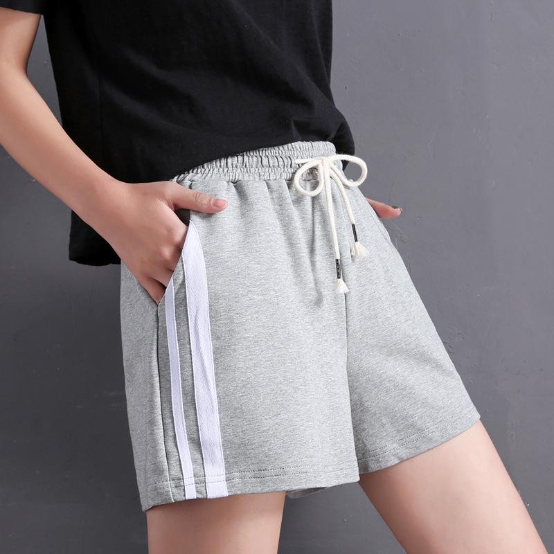 Damen Sommer Shorts Modesport Koreaner Freizeit Laufen 2021 Baumwolle Lose Harlan Hot Hose