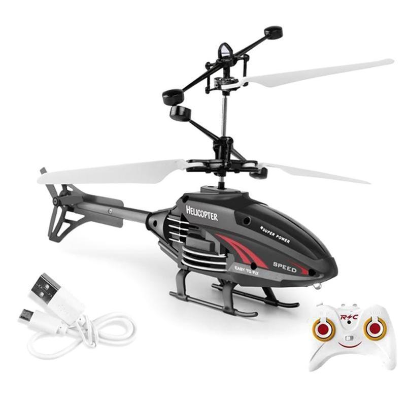 2.5 Kanal Kinder Fernbedienung Flugzeug Spielzeug Modell Spielzeug Infrarot-Induktions-Hubschrauber 2.4g Frequenz des Jungen