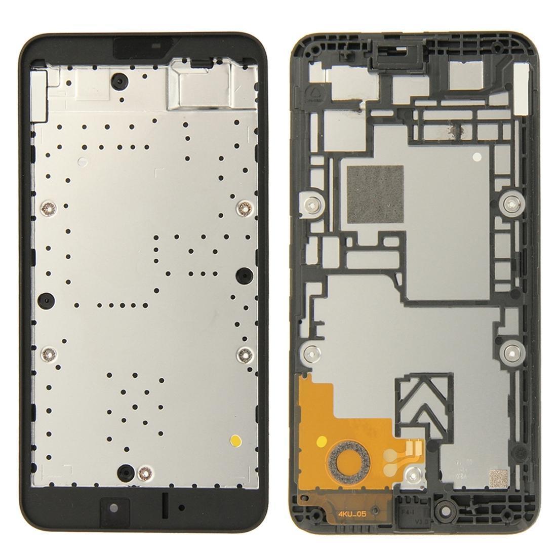 Abrigando a parte dianteira do quadro LCD moldura placa para Nokia Lumia 530 N530
