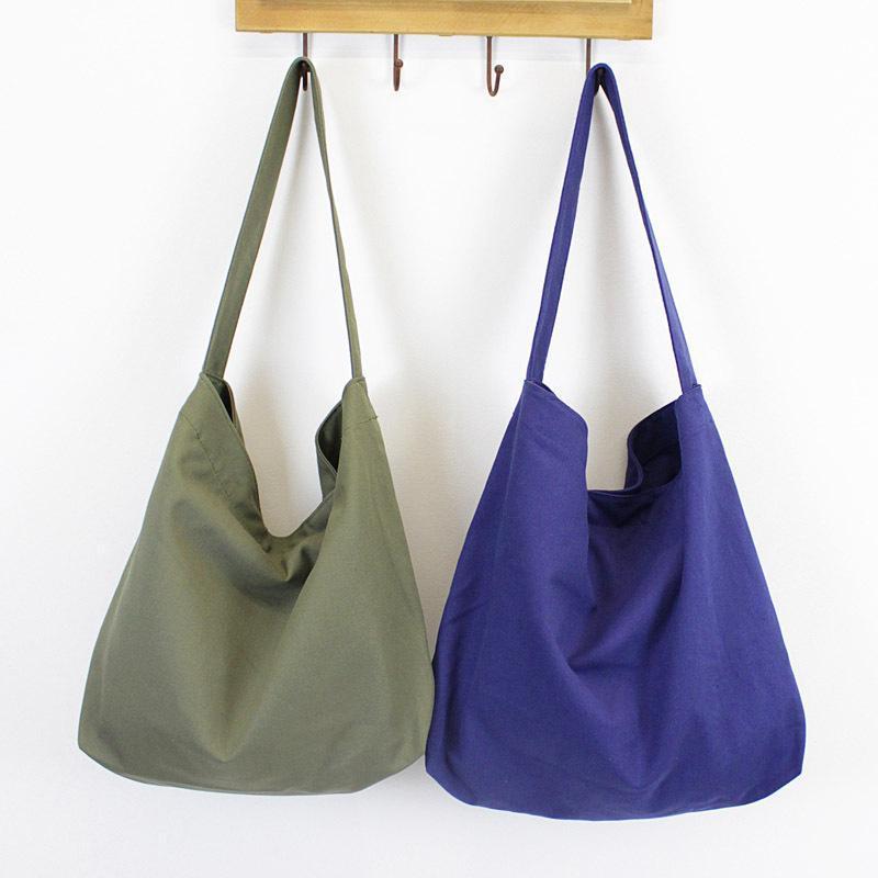 2020 Simples New Art Messenger Bag Casual Shoulder Bolsa Original Handmade selvagem Pano coreano