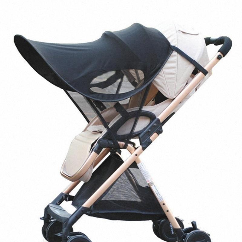 Sun Visor Carriage Sun Shade Canopy Cover for Baby Prams Stroller Buggy Pushchair Cap Hood AN88 HR1v#