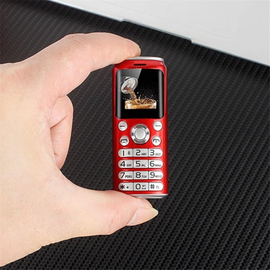 "Leerknopf Super Mini K8 Push-Button Handy Dual Sim Bluetooth Kameradialer 1.0 ""Hände Telefon MP3 Kleinst China Günstige Mobiltelefon"