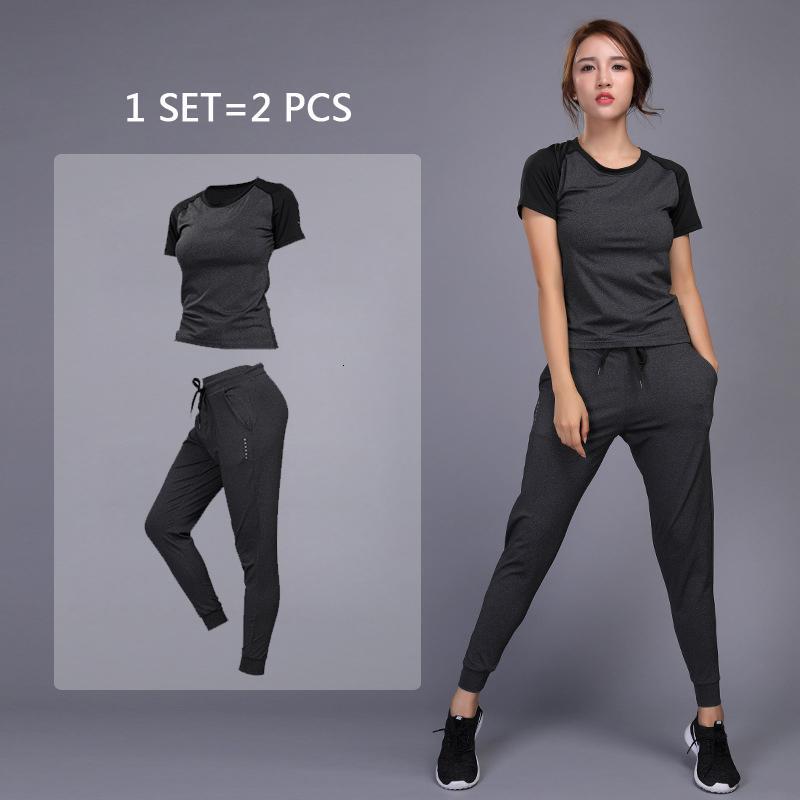 de spor yoga camisetas + calças correndo ter treinamento jimnastik egzersiz koşu yoga ROUPAS esportivas das mulheres de CONJUNTOS